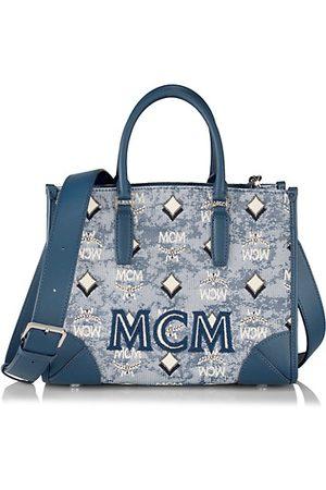 MCM Handbags - Small Vintage Jacquard Tote