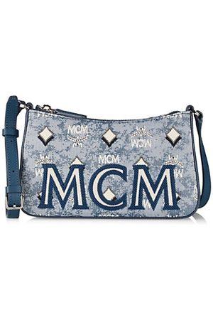 MCM Handbags - Mini Vintage Jacquard Shoulder Bag