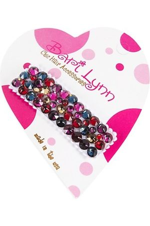 Bari Lynn Girls Hair Accessories - Rhinestone Embellished Barrette