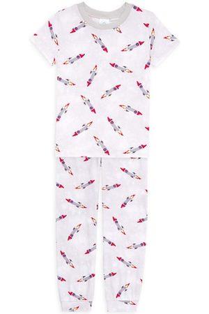 Esme Boys Pyjamas - Two-Piece Little Boys & Boy's Rocket Pajama Set