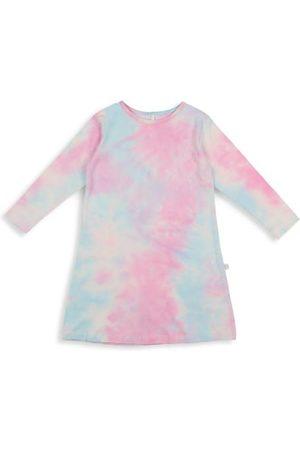 Pouf Little Girl's & Girl's Tie-Dye Nightgown