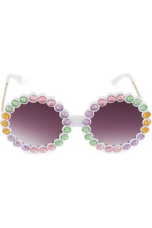 Bari Lynn Girls Sunglasses - Girl's Multi Crystal Sunglasses