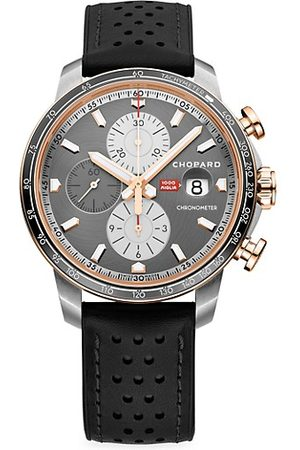 Chopard Watches - Classic Racing 18K Rose Gold & Stainless Steel Limited-Edition Watch