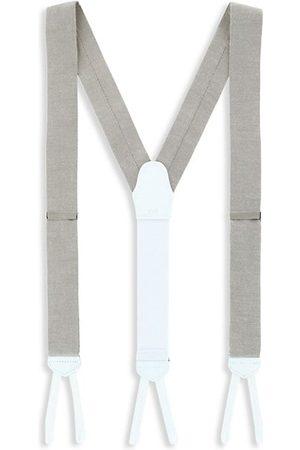 Trafalgar Men Neckties - Chambray Brace Suspenders