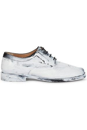 Maison Margiela Loafers - Bianchetto Tabi Lace-Up Oxfords
