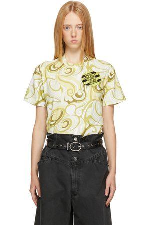 Women Short Sleeve - Raf Simons Green & Graphic T-Shirt