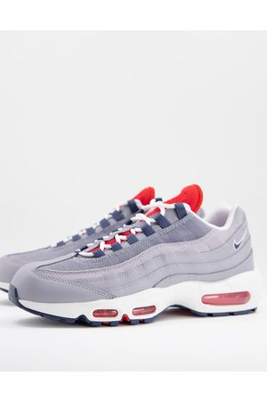 Nike Men Sneakers - Air Max 95 trainers in and red