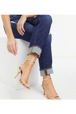 Glamorous Wide Fit Women Sandals - Barely there heeled sandals in