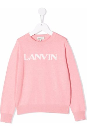 Lanvin Logo-print crew neck sweatshirt