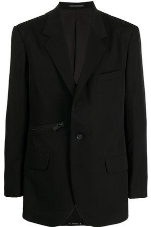YOHJI YAMAMOTO Zip-detail cotton blazer