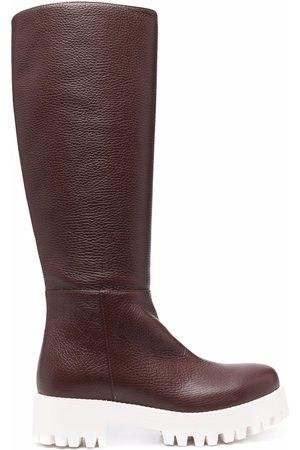 SOCIÉTÉ ANONYME Chunky-sole knee-length boots