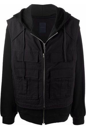 JUUN.J Zip-up hooded jacket