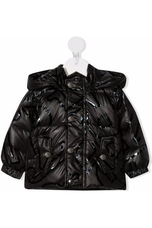 John Richmond Junior Baby Jackets - Padded hooded jacket