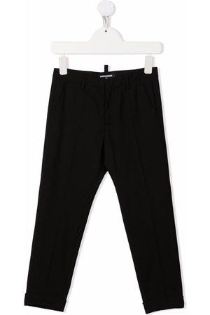 Dsquared2 Rear logo-print trousers