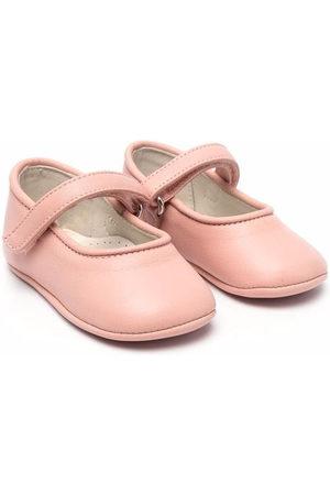 ANDREA MONTELPARE Girls Ballerinas - Touch-strap ballerina shoes
