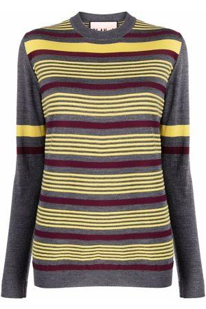 Plan C Women Jumpers - Striped knit jumper