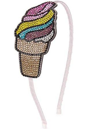 Bari Lynn Girls Headbands - Girl's Embellished Ice Cream Headband