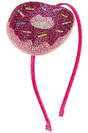 Bari Lynn Girl's Donut-Embellished Headband