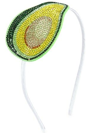 Bari Lynn Girl's Embellished Avocado Headband