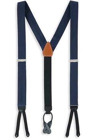 Trafalgar Adjustable Silk Patterned Suspenders