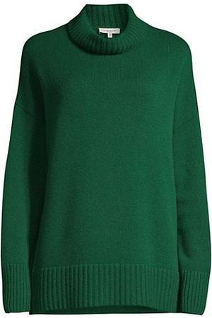 Lafayette 148 New York Cashmere Mockneck Sweater