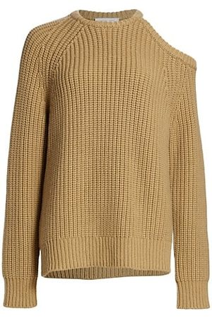 Michael Kors Ribbed Cashmere Cutout Sweater