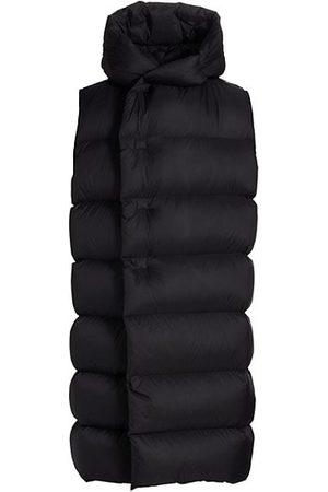 Rick Owens Hooded Puffer Vest