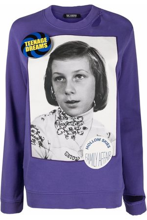 RAF SIMONS Women Sweatshirts - Photograph print sweatshirt