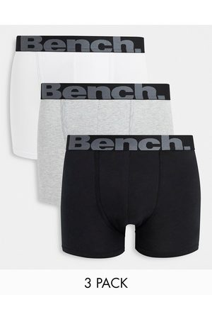 Bench Men Briefs - Conan 3 pack boxers in black and grey