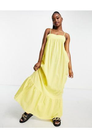 ASOS Tiered maxi beach dress in