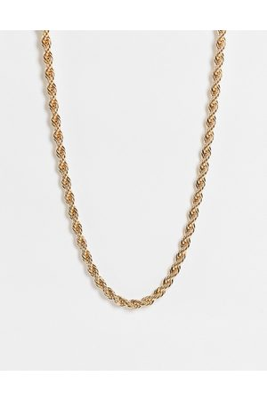 Monki Women Necklaces - Janet rope chain necklace in