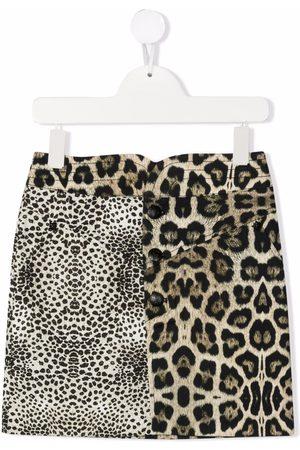 John Richmond Junior Leopard-print skirt