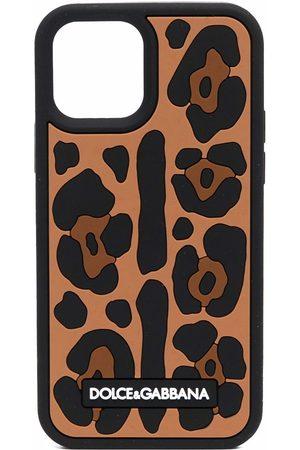 Dolce & Gabbana Leopard-print iPhone 12 Pro case