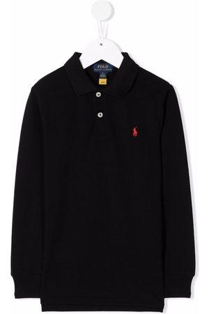 Ralph Lauren Embroidered-logo polo shirt