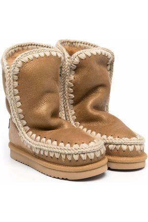 Mou Eskimo sheepskin ankle boots