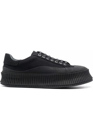 Jil Sander Padded lace-up sneakers