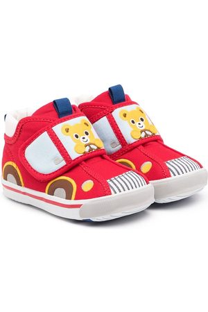 Miki House Car touch-strap sneakers