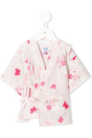 Miki House Printed kimono set