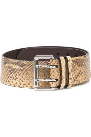 Ralph Lauren Snakeskin-effect leather belt