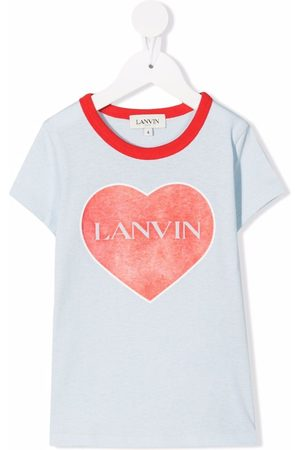 Lanvin Heart logo T-shirt
