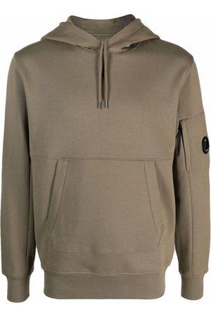 C.P. Company Men Sweatshirts - Panelled cotton hoodie