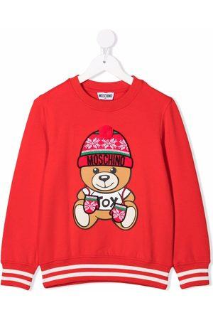 Moschino Logo crew-neck sweatshirt