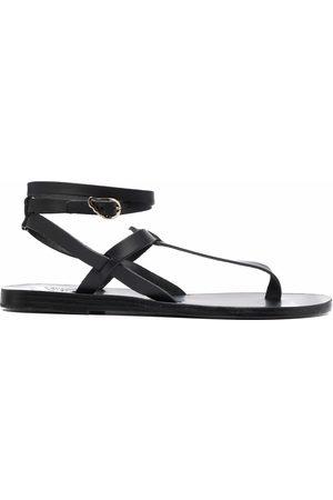 Ancient Greek Sandals Women Sandals - Estia leather sandals