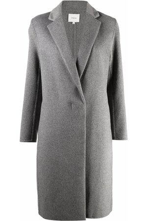 Vince Single-breasted mid-length coat