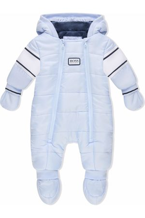 HUGO BOSS Boys Ski Suits - Padded logo-patch snowsuit