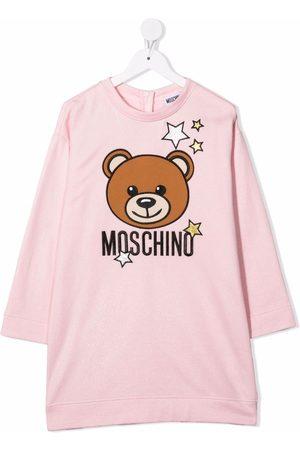 Moschino Girls Casual Dresses - Graphic-print jersey dress