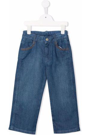 Chloé Girls Straight - Straight-leg denim jeans