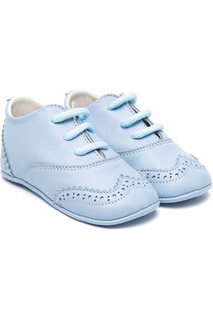 ANDREA MONTELPARE Baby Shoes - Lace-up leather shoes