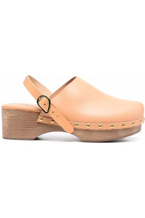 Ancient Greek Sandals Women Casual Shoes - Classic Closed 70mm leather clogs