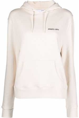 Axel Arigato Logo-print organic-cotton hoodie